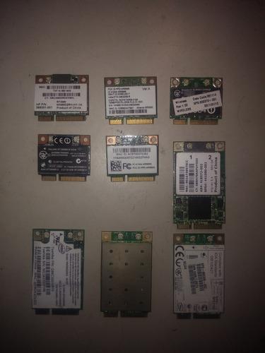 tarjetas wifi minipci laptop broadcom atheros realtek varias