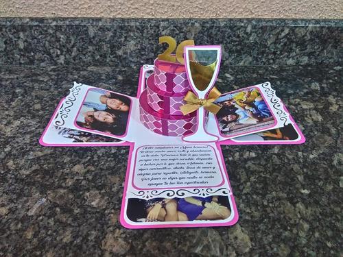 tarjetas y regalos personalizados aniversario cumpleaños