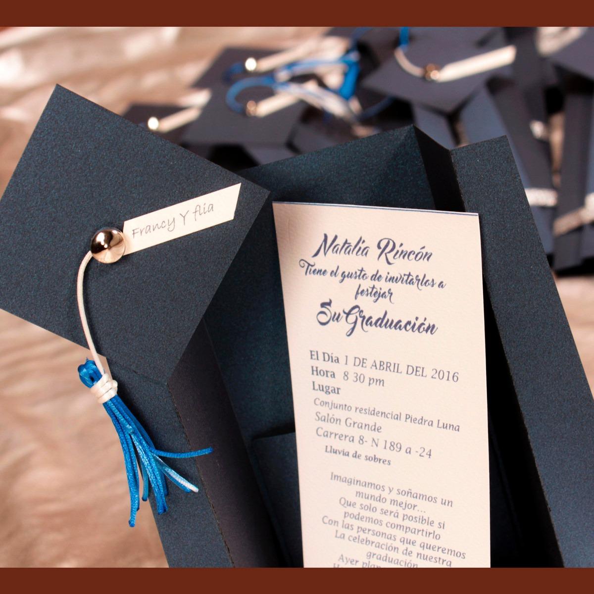 tarjetas invitaciones y recordatorios para grado 4 200 en