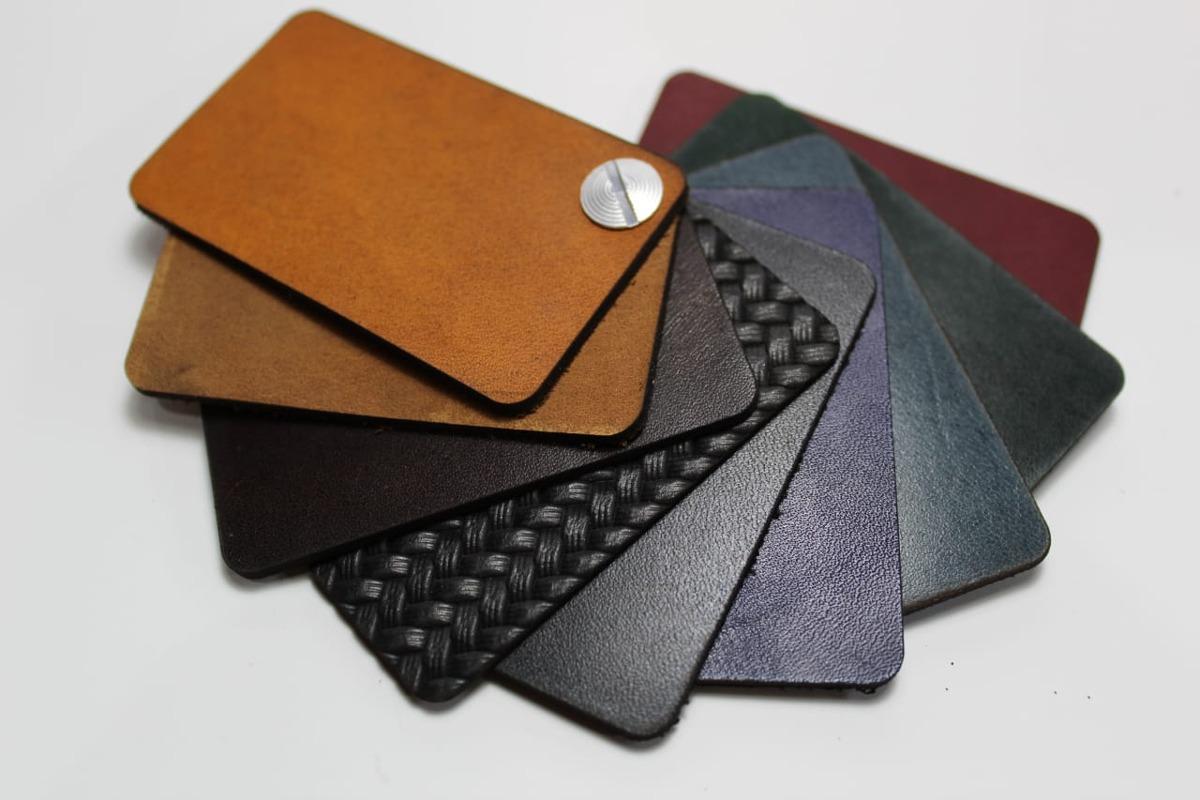 26726809157 tarjetero cartera artesanal piel 100% bovina personalizada. Cargando zoom.
