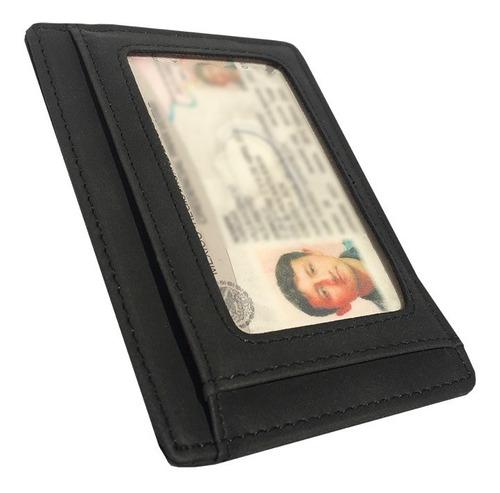 tarjetero clip cartera billetes rfid antirrobo old caborca