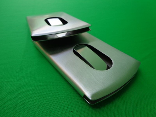 tarjetero para tarjetas de presentación personalizado láser!