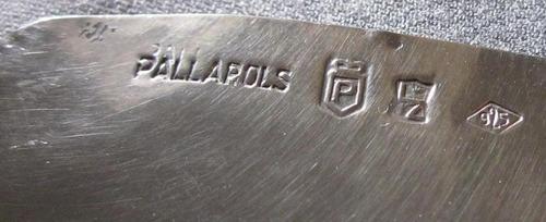 tarjetero plata 925 orfebreria pallarols
