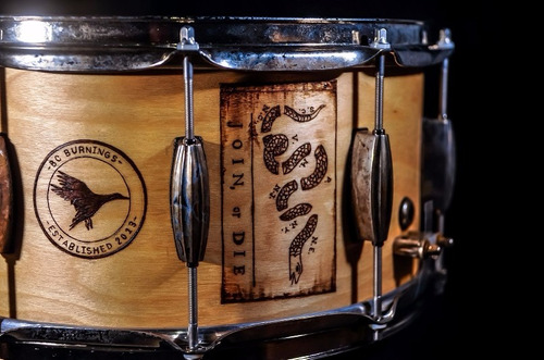 tarola truth custom drums nueva 14x8 6+6ply natural birch