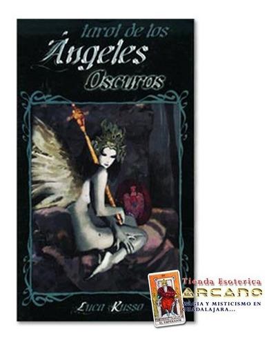 tarot  angeles oscuros - luca kusso / 78 cartas y folleto