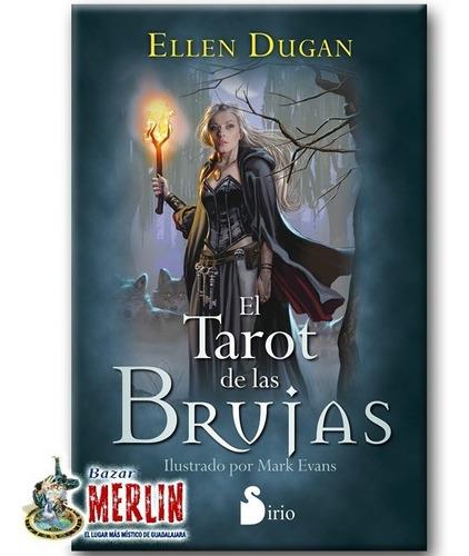 tarot de las brujas - set libro y 78 cartas - autentico