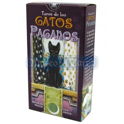 tarot de los gatos paganos (manual + cartas), lo scarabeo