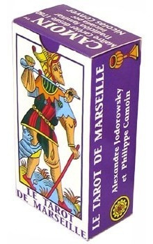 tarot de marseille - jodorowsky & camoin tarot mini deck