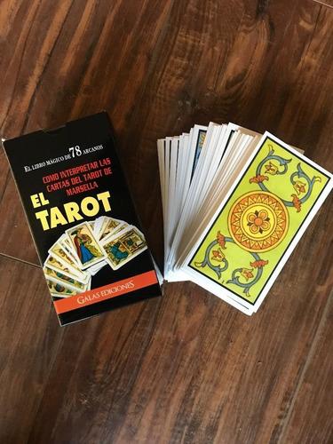 tarot de marsella + cartas