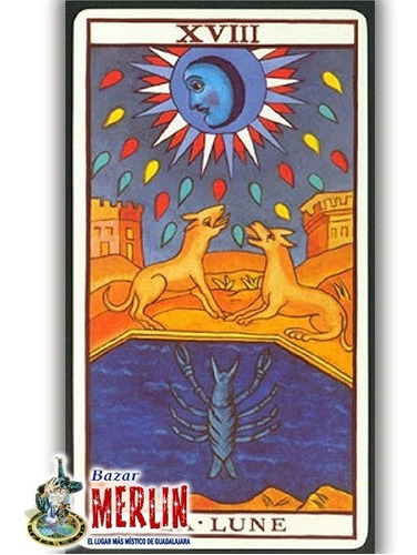 tarot de marsella profesional - 78 cartas y folleto