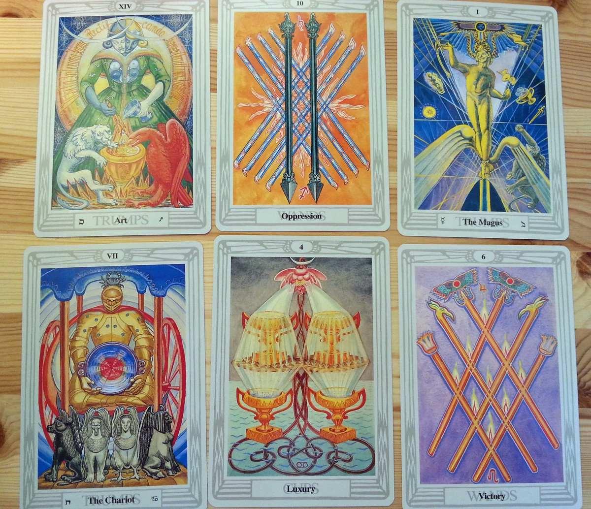 Tarot De Thoth - Aleister Crowley Tamanho Grande - Original