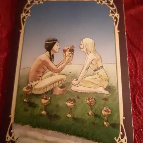 tarot del amor wicca