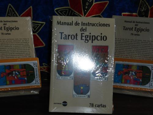 tarot egipcio con libro