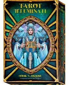 tarot illuminati (manual + cartas), dunne, lo scarabeo