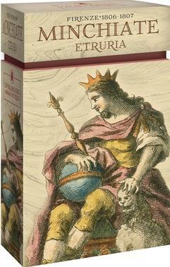tarot minchiate etruria (manual + cartas), lo scarabeo