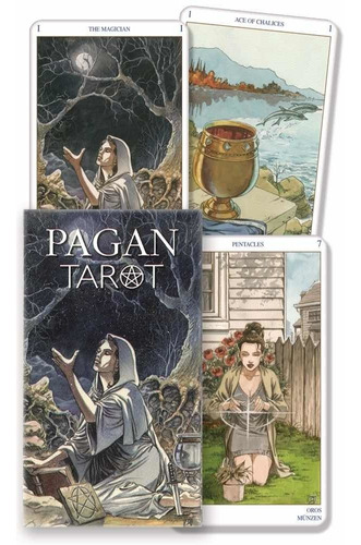 tarot pagano miniatura