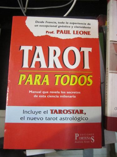 tarot para todos - paul leone - ed: porteñas