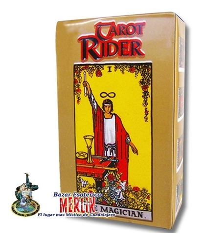 tarot rider mini - cartas plastificadas y manual