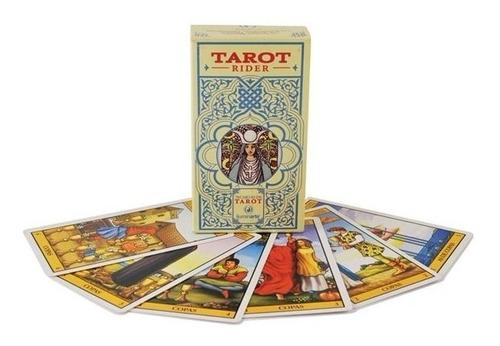 tarot rider waite, cartas / baraja  78 cartas.gran calidad.