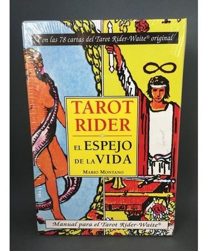 tarot rider waite pack 1 libro + mazo de 78 cartas