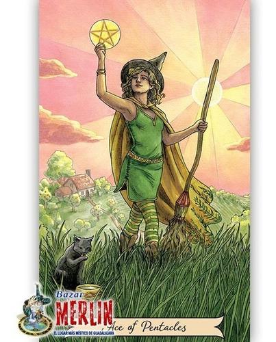 tarot sabiduría de bruja - libro y cartas