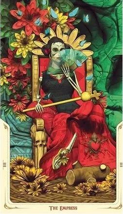 tarot santa muerte de los muertos entrega inmediata!