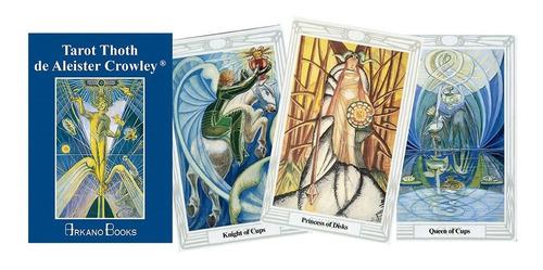 tarot thoth de aleister crowley (manual + cartas), arkano