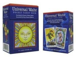 tarot universal waite pocket deck en ingles