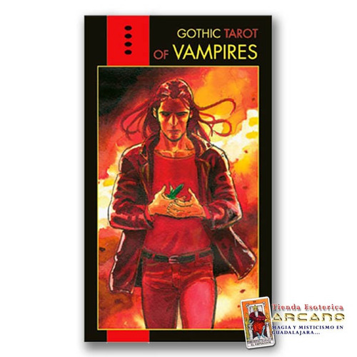 tarot vampiros gótico - 78 cartas y guía informativa