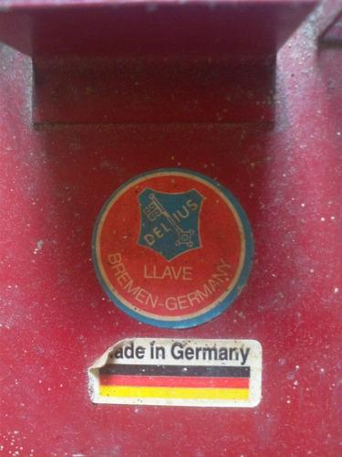 tarraja manual alemana de plomeria de 1/2,3/4 y 1 pulgada