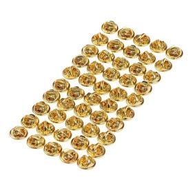 Tarraxa De Proteção (bilolas) Para Pins E Insígnias - Kit 40