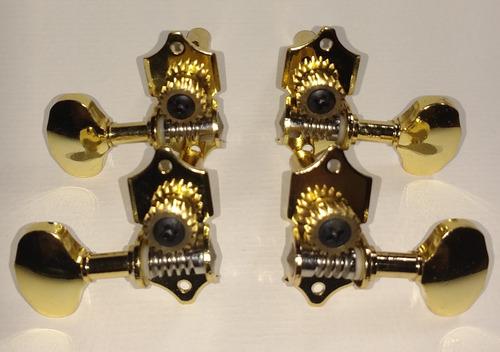 tarraxas individuais douradas cavaco banjo pino grosso fino