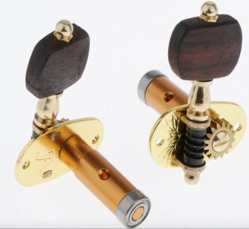tarraxas individuais rolamentadas douradas cavaco banjo