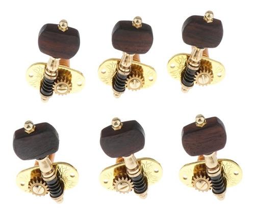 tarraxas individuais rolamentadas douradas violão