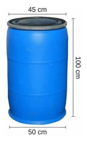 tarrina 200 lts. - tankes - tapa, zuncho chapa. usada.