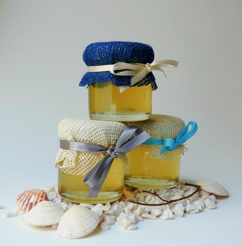 tarritos miel de abeja: recuerdo baby shower boda bautizo xv