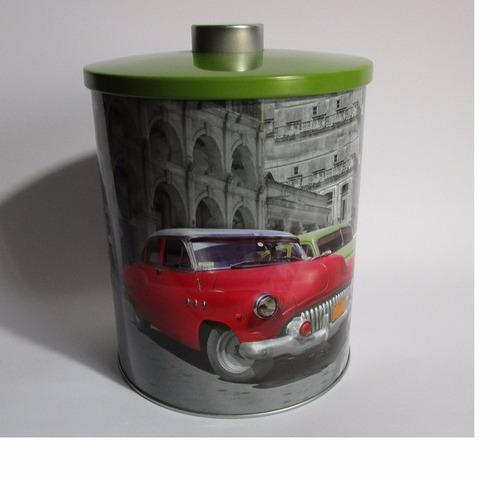 tarro caja metalica multiusos modelismo decoracion vintage