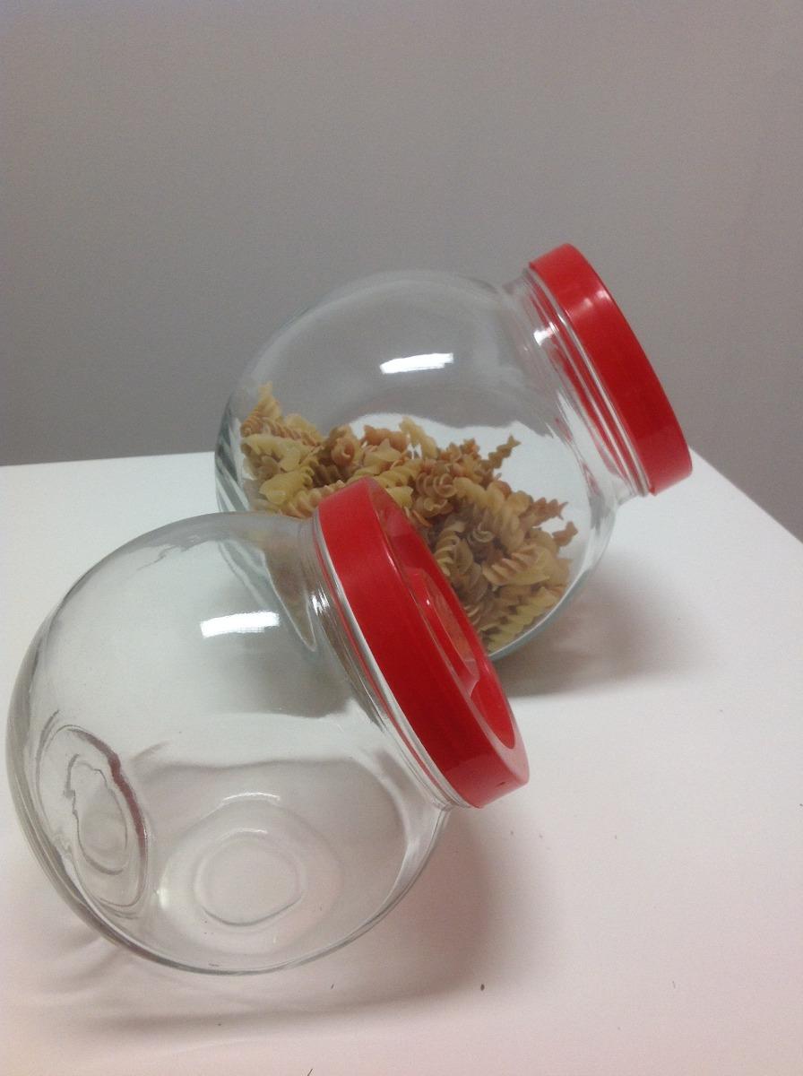 Tarro caramelera frasco de vidrio con tapa rosca 210 - Tarro cristal con tapa ...