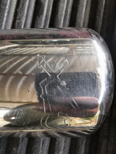 tarro de alto flujo con terminal cromada
