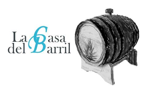 tarro de barril de madera de roble blanco de 1 litro