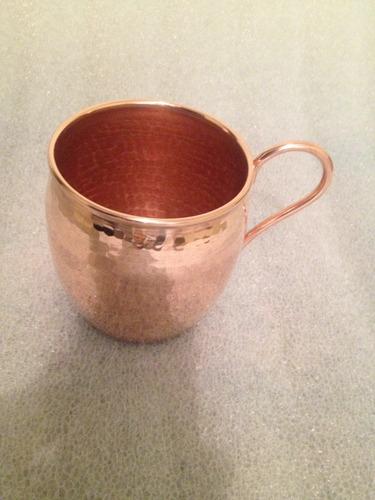tarro de cobre martillado