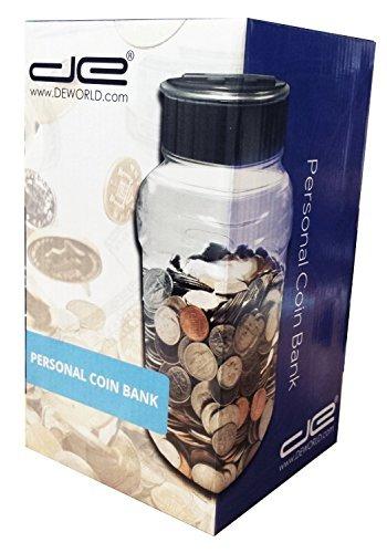 tarro de la moneda digital caja de ahorros - contador autom