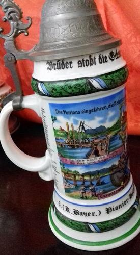 tarro de porcelana alemana.