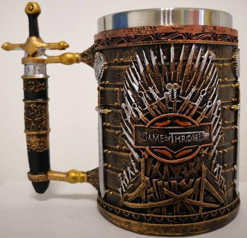 tarro game of thrones 400 ml  ( entrega inmediata )