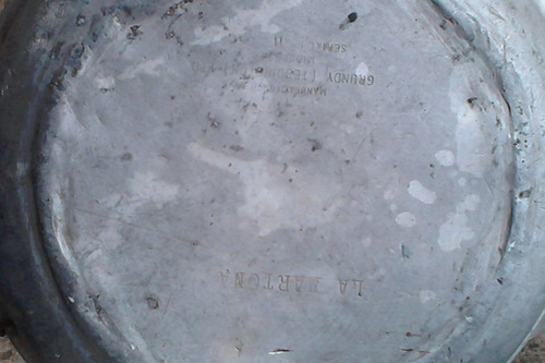 tarro lechero aluminio