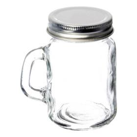 Tarro Mason Jar Mini De 140 Ml Con Tapa Cerrada