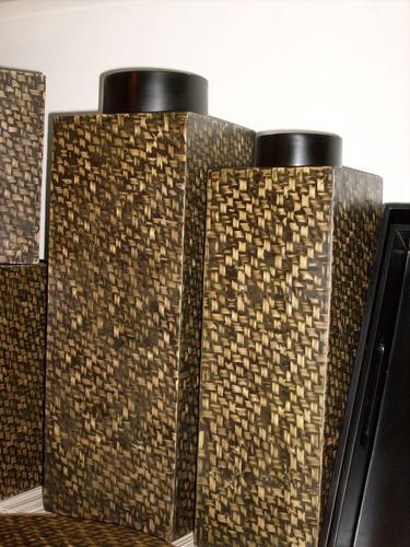 tarros x2 de cocina oferta bamboo importados