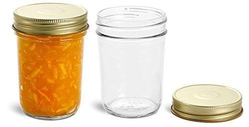 tarros,nakpunar 12 piezas tarros de albañil, 9 oz