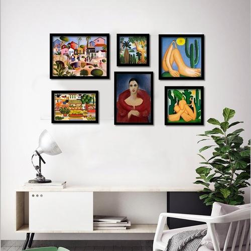 tarsila do amaral 6  quadros mais famosos da pintora