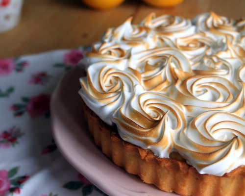 tarta de limon lemon pie pasteleria artesanal palermo viejo